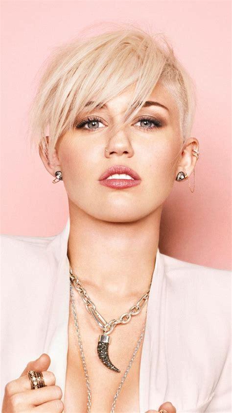 Miley Cyrus, short hair, blonde, singer, 2018 wallpaper ...