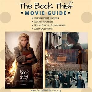 The Book Thief Movie Guide On Teachwithmovies Org