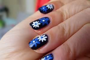 Elegant designs nail art flowers images gallery trendy