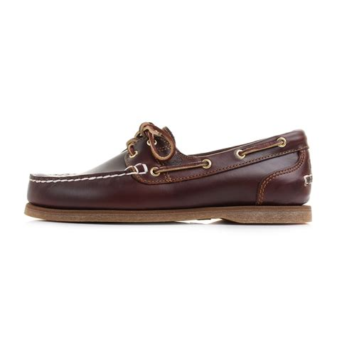 Timberland Boat Shoes Size by Womens Timberland Amherst Root Brown Leather Boat