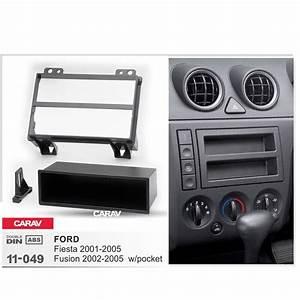 Carav 11 049 Car 2din Fascia Facia Panel Plate Frame For