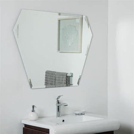 This frameless wall mirror is perfect for your hallway, living room, den or bathroom. Decor Wonderland SSM9010 39.5 x 29.5 in. Kent Frameless Bevel Wall Mirror   Walmart Canada