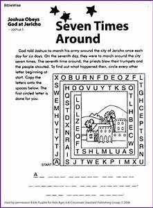 Joshua And The Battle Of Jericho Coloring Page Free
