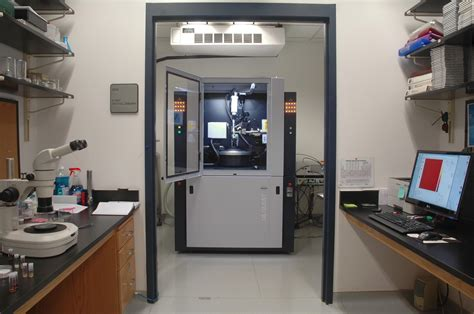 single crystal  ray diffraction facility department