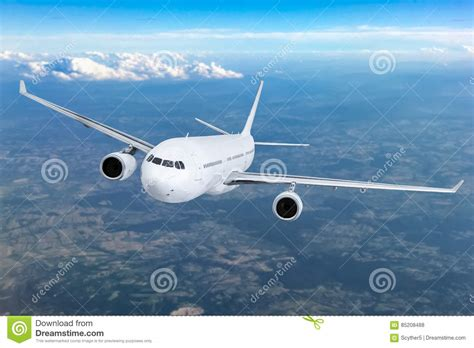 airplane flying concept stock illustration illustration