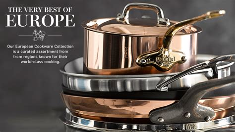 cookware sonoma williams french italian steel european stainless germany denmark diamond france demeyere italy europe swiss woll berndes le pottery