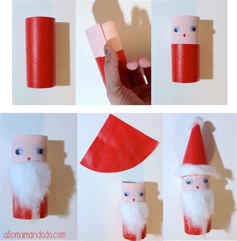 diy p 232 re no 235 l activit 233 pour les enfants rouleau de papier toilette noel craft and