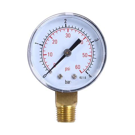 water pressure meter 1 4 quot npt mini pressure water compressor hydraulic 3360