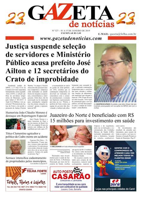 Gazeta de Notícias em sua mais recente edição - Confira as ...