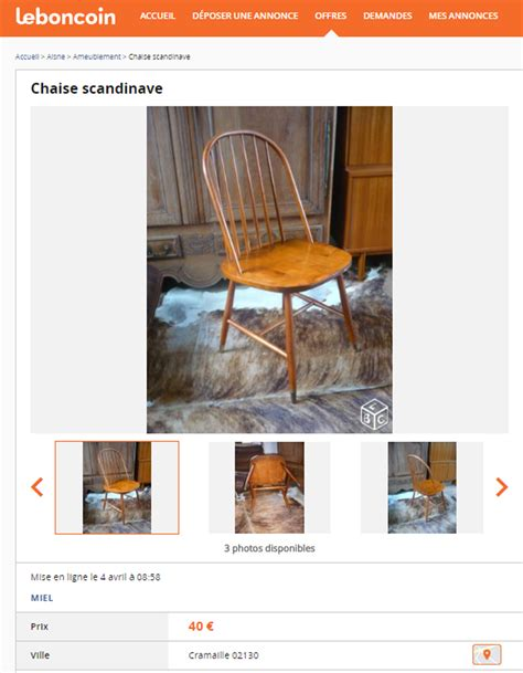 le bon coin bureau chaises le bon coin 28 images chaise bistrot le bon