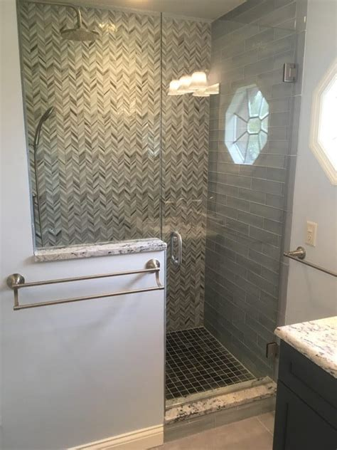 stained glass mosaic tiled shower cincinnati ohio lou