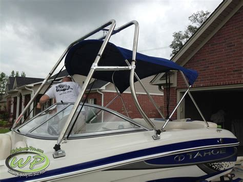 Pontoon With Wakeboard Tower For Sale by Ski Tower For Pontoon Boat Images