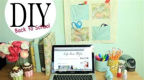 diy wall organizer desk accessories   school