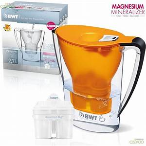 Bwt Filter Magnesium : bwt 2 7l gourmet mineralised magnesium water filter jug mg2 cartridge orange water filters ~ Orissabook.com Haus und Dekorationen