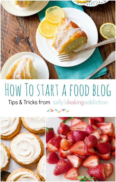 start  food blog sallys baking addiction