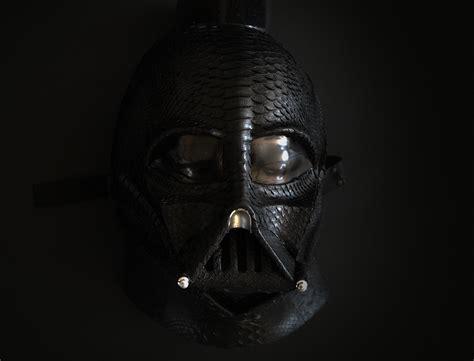 masque wars a fabriquer un masque int 233 gral vador en peau de serpent batburger