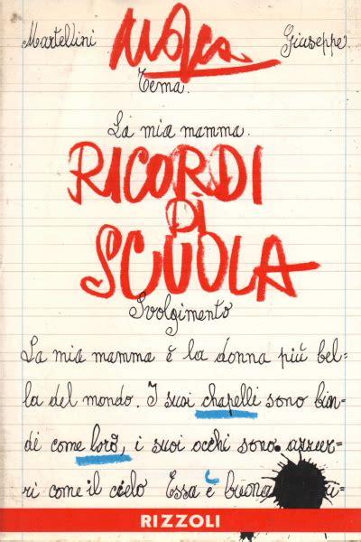 Libreria Ricordi ricordi di scuola mosca narrativa libreria