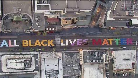 motion  save  black lives matter mural  hollywood
