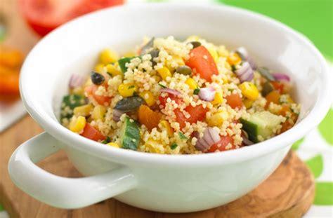easy couscous salad recipe goodtoknow