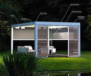 Pavillon Mit Lamellendach : renson camargue terrassen berdachung das innovative lamellendach mit einer innovativen ~ Orissabook.com Haus und Dekorationen