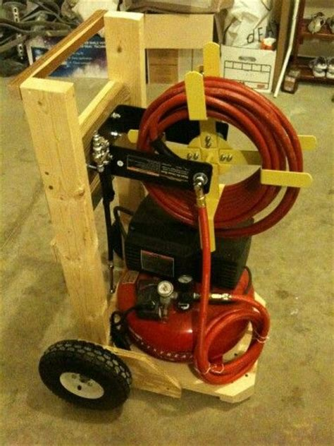 air compressor stand projects design  tools