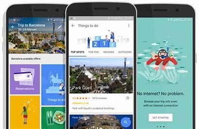 Google App Trips Tourism Mobile Aplikacije Za