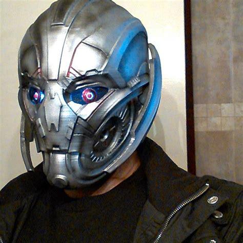 dprinted wearable ultron mask adafruit industries