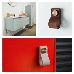 Poignée Meuble Cuir : personnaliser vos meubles ikea pour les rendre chics ~ Teatrodelosmanantiales.com Idées de Décoration