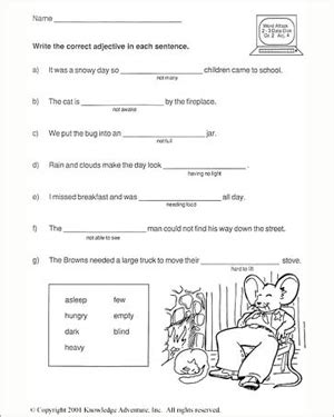 19 best photos of 2nd grade reading worksheets 2nd
