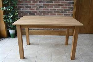 Minsk solid oak kitchen tables and chair sets for Oak kitchen table