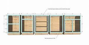 Ana White Face Frame Base Kitchen Cabinet Carcass - DIY