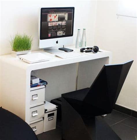 bureau dans un salon aménager un coin bureau dans salon