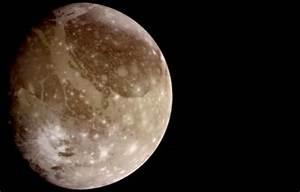 Jupiter's Moon Ganymede - Universe Today