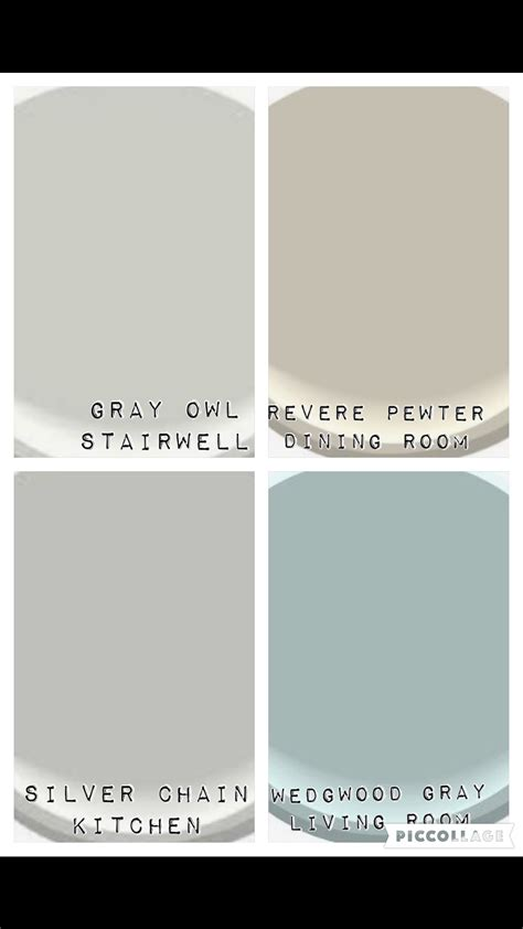 color palate for downstairs and stairwell benjamin