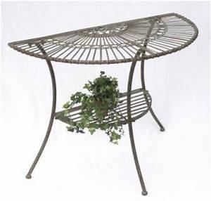 Beistelltisch Garten Metall : halbrund metall g nstig sicher kaufen bei yatego ~ Eleganceandgraceweddings.com Haus und Dekorationen
