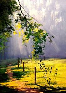 60 easy and simple landscape painting ideas