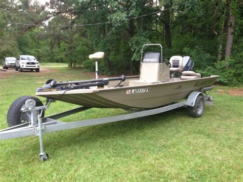 Louisiana Sportsman Bay Boat For Sale by 2010 Alumacraft 1860 Bay Boat For Sale In Louisiana