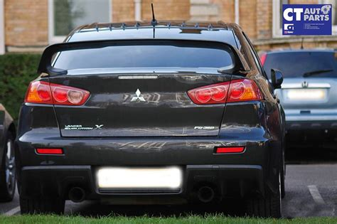 Mitsubishi Evo Spoiler by Evolution X Style Abs Rear Trunk Wing Spoiler Evo X