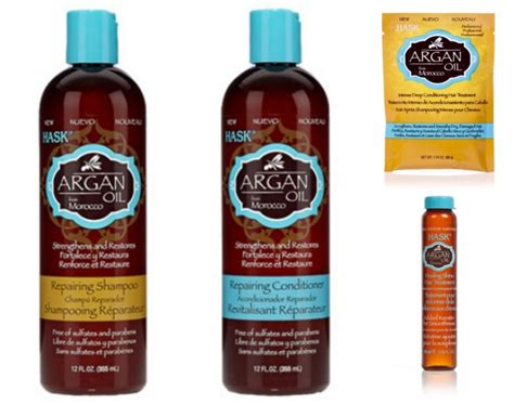 Hask Keratin Protein And Argan Oil Review