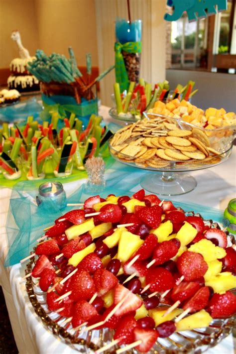 Simple Baby Shower Food Ideas by Baby Shower Decorations On Pinterest African American