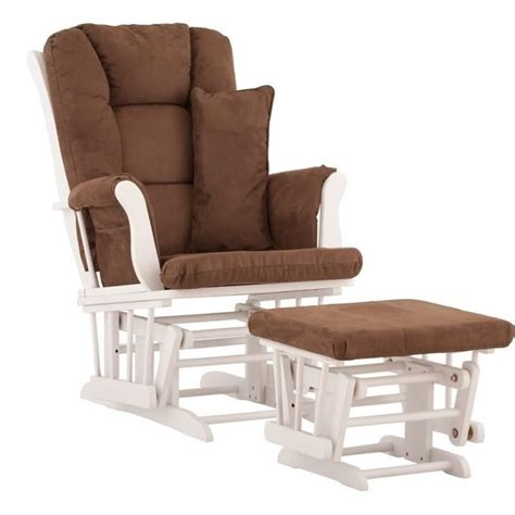 tuscany glider and ottoman with free lumbar pillow in