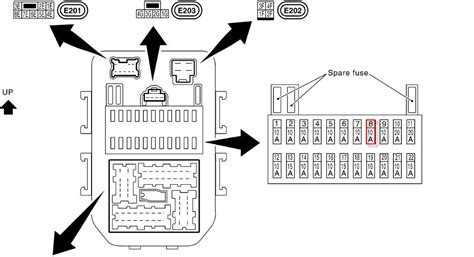 2007 Infiniti Fx35 Fuse Box Location by I Need A Diagram For The In Car Fuse Boxes In My 2003