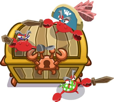 pirate crabs club penguin wiki   editable