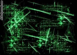 Black Green Backgrounds - Twitter & Myspace Backgrounds