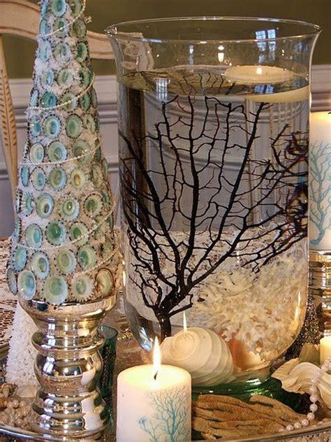 magnificent coastal themed christmas interior decor