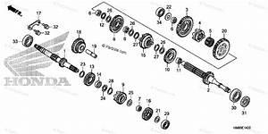 Honda Atv 2012 Oem Parts Diagram For Transmission