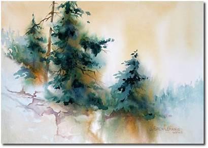 Landscape Paintings Watercolor Watercolour Bing Jeanne Brenneman