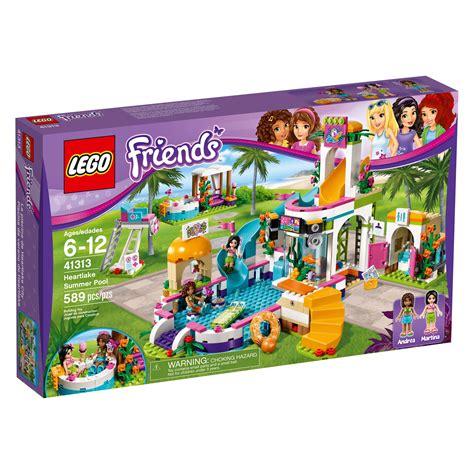 Amazoncom LEGO Friends Heartlake Summer Pool 41313 New