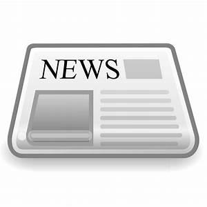 Clipart - News Paper Icon