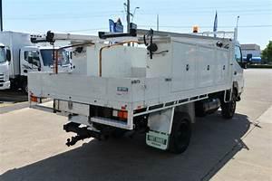 2009 Mitsubishi Fuso Canter Fg84 Manual Service Truck